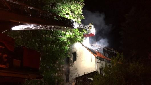 Zum wiederholten Mal hat dieses leerstehende Haus an der Walbecker Straße in Helmstedt gebrannt.