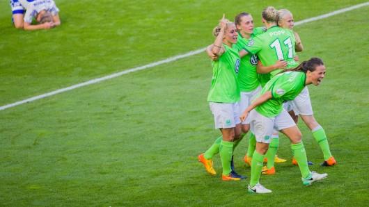 Können die Mädels am Sonntag vor heimischem Publikum den Einzug ins Champions-League-Finale feiern? (Archivbild)