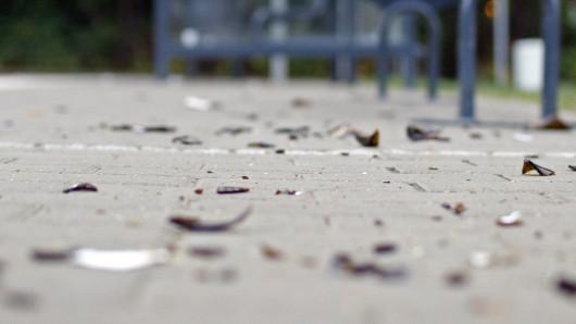 Der Mann hatte die Flasche aus seiner Wohnung in der Ilsenburger Straße geworfen (Symbolbild).