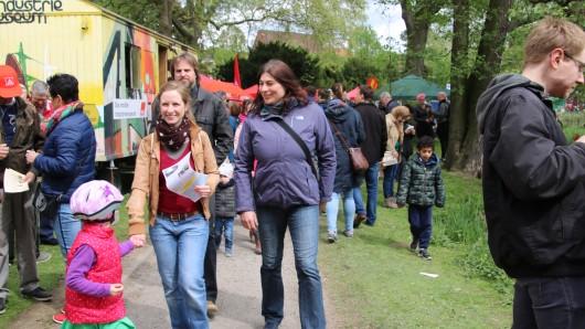 Beim internationalen Fest am 1. Mai im Bürgerpark gab es ein buntes Programm für alle.