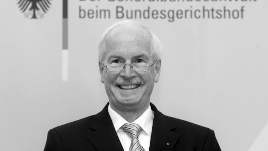 Im Alter von nur 70 Jahren gestorben: der aus Göttingen stammende frühere Generalbundesanwalt Harald Range (Archivfoto).