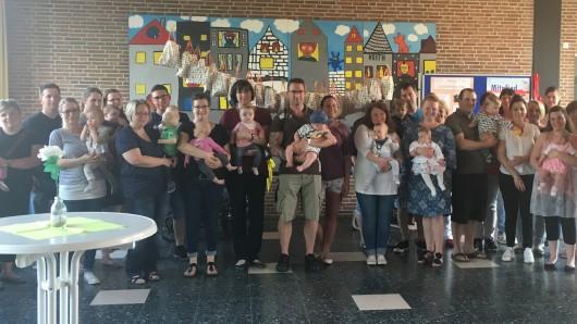 Viele Eltern sind mit ihrem Nachwuchs in die Grundschule nach Remlingen gekommen.