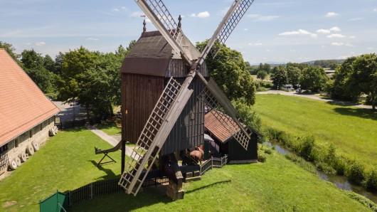 Die Bockwindmühle in Salder steht am Pfingstmontag im Mittelpunkt.