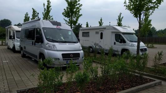 Künftig können Camper ihre Reisemobile an der Hamburger Straße parken.