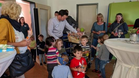 Neue Kita in Lamme: Die Kleinsten freuen sich schon auf ihr neues Reich.