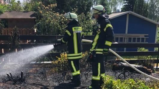 Die Feuerwehr konnte den Brand aber rechtzeitig löschen.