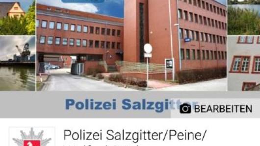 So sieht der Facebook-Auftritt der Polizeiinspektion Salzgitter/Peine/Wolfenbüttel aus. Die Seite wird am 1. Juni online gehen.