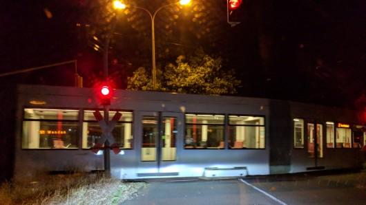 Ab heute Abend, 22.40 Uhr, verkehren auf der Linie 1 Busse. (Archivbild)