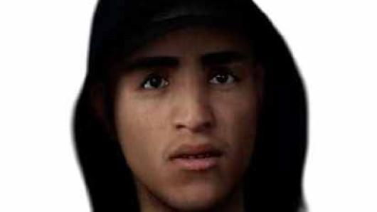 Ein Polizeizeichner hat nach den Angaben der 32-jährigen Zeugin dieses Phantombild des gesuchten Mannes angefertigt.