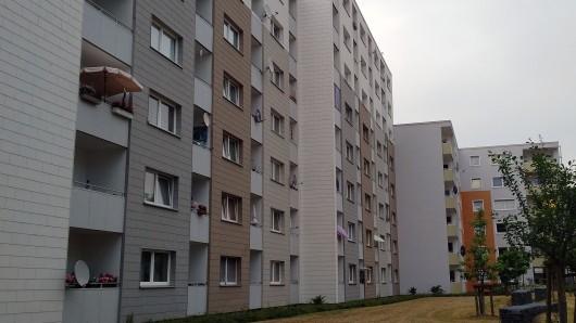 Der aktuelle Mietspiegel für den Braunschweiger Wohnungsmarkt - hier ein Wohnblock in der Weststadt - läuft Ende Juni aus.