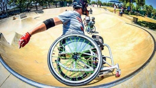 Einen Skater-Workshop bietet der Behindertenbeirat Wolfsburg am Samstag, 23. Juni, auf der Skateranlage am Allerpark an.