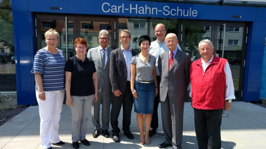 Die Carl-Hahn-Schule hat nun offiziell ein neues Gebäude.
