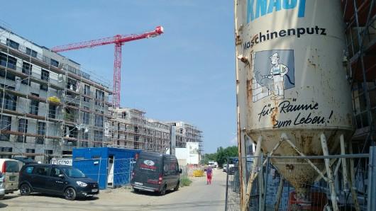 Insgesamt sollen das Caspariviertel einmal aus knapp 1.800 neuen Wohnungen bestehen.