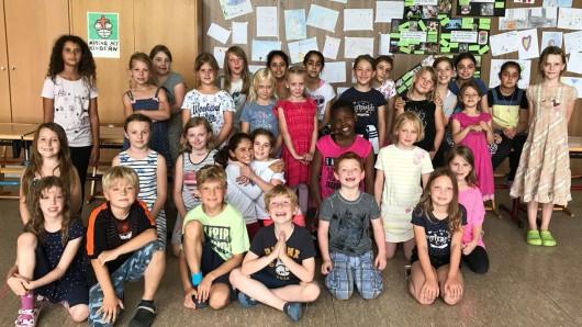Die Börßumer Grundschüler arbeiten in drei AGs am gemeinsamen Dornröschen-Projekt.