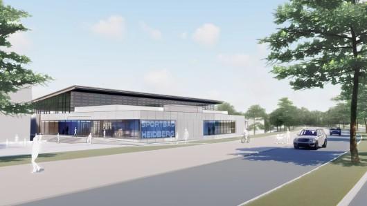 So soll das Hallenbad Heidberg nach den Bauarbeiten aussehen.