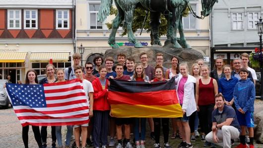 Noch bis zum 29. Juni sind die Schüler in Deutschland.