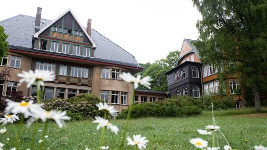 Das Sanatorium Dr. Barner in Braunlage wurde im zeitgenössischen Stil der damaligen Grandhotels gebaut. (Archivbild)