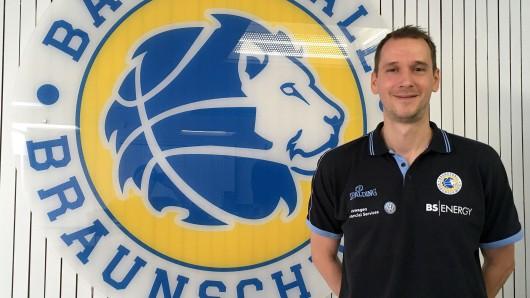 Er ist der Neue: Christian Raus wird die U19-Mannschaft der Basketball Löwen durch die kommende Saison führen.