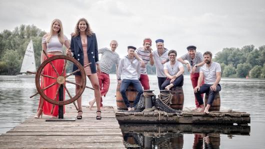 Die Braunschweiger Funk-Soul-Band Gestørtebekker tritt am 3. Juli auf der Party am Campus Nord auf.