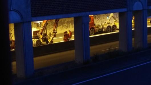Am Heidbergtunnel sollen die Wartungsarbeiten zwischen 19 und 5 Uhr stattfinden. (Archivbild)