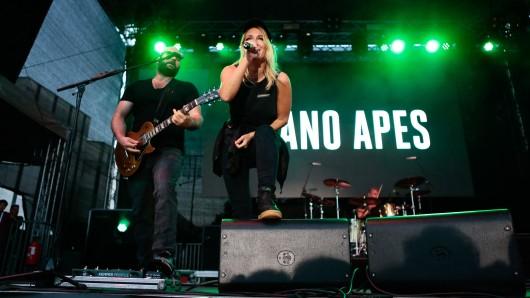 Die Guano Apes waren die Headliner - mit Rock aus Göttingen.