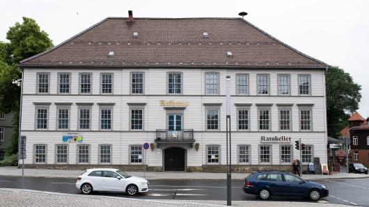 Das Rathause der Berg- und Universitätsstadt Clausthal-Zellerfeld von außen (Archivbild).