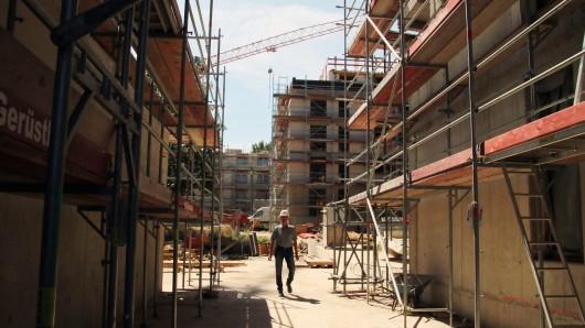 Sichtachsen auf der Baustelle.