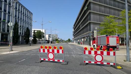 In Wolfsburg wird am Sonntagvormittag eine Bombe entschärft (Symbolbild).