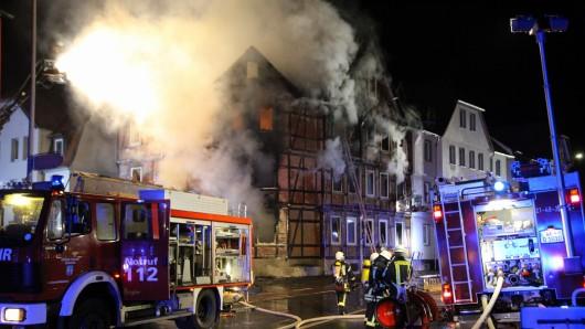 Im Juli brannte es in der Wolfenbütteler Zickerickstraße – ein Mann starb an den Folgen (Archivbild).