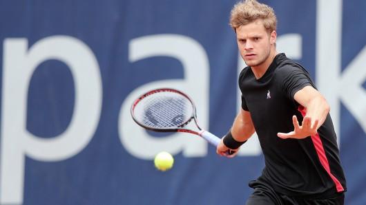 Yannick Hanfmann warf am Dienstag Titelverteidiger Nicola Kuhn aus dem Turnier.