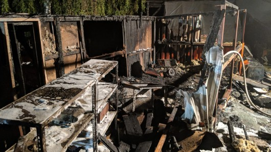 Nach dem letzten Brand in der Walbecker Straße konnte die Polizei einen dringend Tatverdächtigen festnehmen.