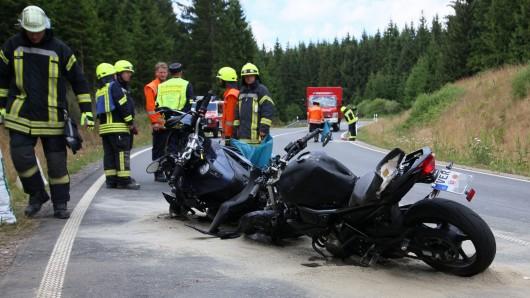 Tragisches Ende eines Motorradausflugs in den Harz.