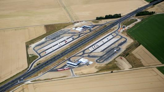 In Salzgitter gibt es bereits weitere Stellplätze beispielsweise bei der neuen Tank- und Rastanlage Salzgitterhüttenblick an der A39.