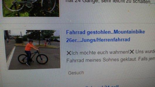 Immer wieder tauchen gestohlene Fahrräder auf Online-Verkaufsplattformen auf - der Blick der Mutter in einschlägige Portale hat sich ausgezahlt.