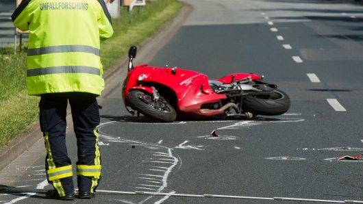 Eine 26-jährige Motorradfahrerin ist heute bei einem Unfall bei Nörten-Hardenberg ums Leben gekommen (Symbolfoto).