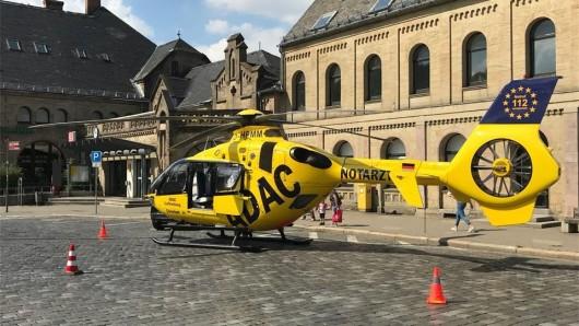 Das Mädchen wurde mit einem Rettungshubschrauber in die Uniklinik nach Göttingen geflogen. (Symbolbild)