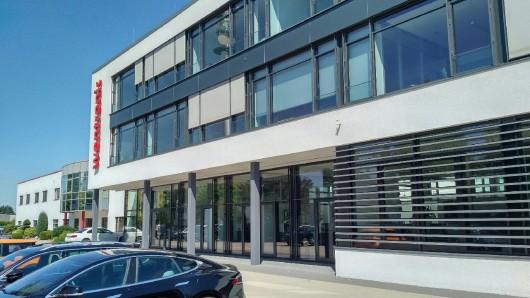 Der Sitz der Wentronic GmbH in der Pillmannstraße: Knapp 200 Mitarbeiter sind für den Distributor in Braunschweig tätig.
