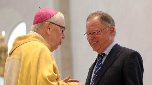 Bereits 2014 besuchte Stephan Weil den Papst. Jetzt steht wieder eine Privataudienz an. (Archivbild)