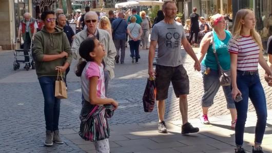 Die Braunschweiger Fußgängerzone: Die neue App soll Stadtführer, Shopping-Guide, Eventkalender und Geheimtipp-Börse in einem sein.