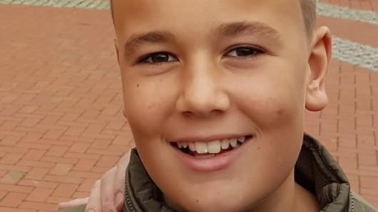 Der 12-jährige Christian braucht eine Stammzellspender um zu überleben.