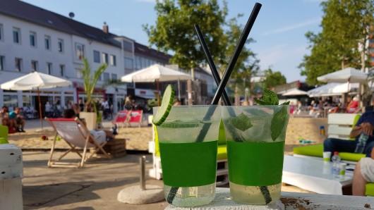 Wolfsburgs erster Gin Markt ist nur am Samstag auf dem Hugo-Bork-Platz.