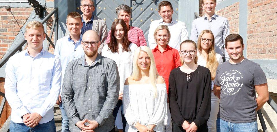 Die Stadtverwaltung Wolfenbüttel stellt auch (neben der Landkreisverwaltung; vorher in der Galerie) neue Auszubildende ein