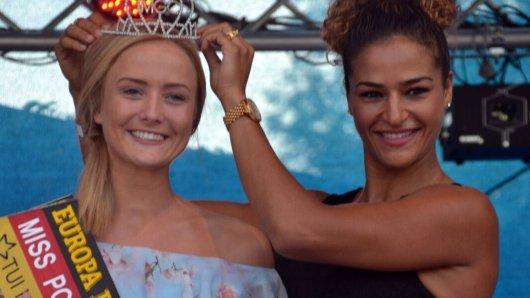 Sie hat gewonnen: Melissa Schwarz holte sich den Titel der Miss Potsdam-Mittelmark 2018.