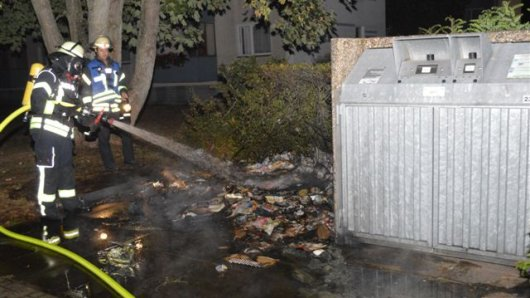 In der Hufelandstraße hat es in der Nacht zu Dienstag gebrannt.