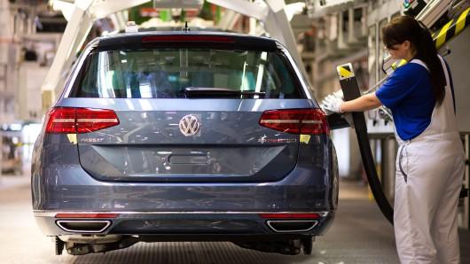Volkswagen hat die Verkaufszahlen im August gesteigert (Archivbild).