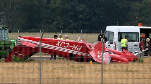 Am Flughafen Münster/Osnabrück ist es zu einem tödlichen Absturz gekommen.