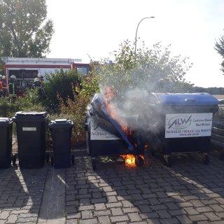 Die Feuerwehr in Wolfenbüttel war am Sonntag im Dauereinsatz.