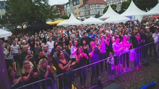 Der Peiner Marktplatz wird für das das BraWo Fest der Sinne am 25. August zur Feiermeile.