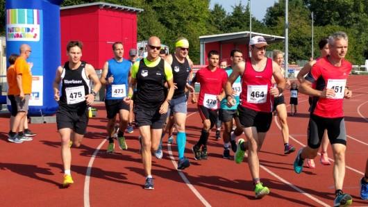 Um zehn Uhr fiel der Startschuss zum Halbmarathon.