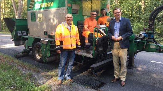 Dieser Reparaturzug fährt in den kommen zwei Wochen durch den Landkreis Gifhorn.